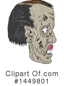 Royalty-Free (RF) Zombie Clipart Illustration #1449801