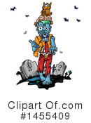 Royalty-Free (RF) Zombie Clipart Illustration #1455409