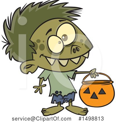 Zombie Clipart #1498813 by toonaday