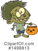 Royalty-Free (RF) Zombie Clipart Illustration #1498813