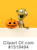 Zombie Clipart #1519494 by Julos