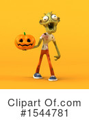 Zombie Clipart #1544781 by Julos