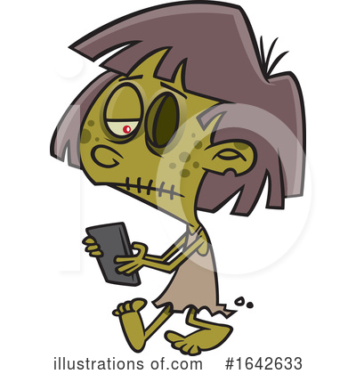 Zombie Clipart #1642633 by toonaday