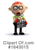 Zombie Clipart #1643015 by Steve Young