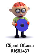Zombie Clipart #1681437 by Steve Young