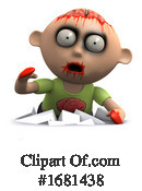 Zombie Clipart #1681438 by Steve Young