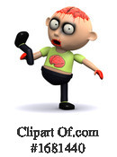 Zombie Clipart #1681440 by Steve Young