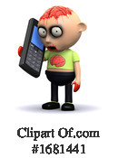 Zombie Clipart #1681441 by Steve Young