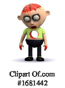 Zombie Clipart #1681442 by Steve Young