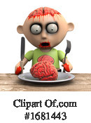 Zombie Clipart #1681443 by Steve Young