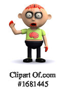 Zombie Clipart #1681445 by Steve Young