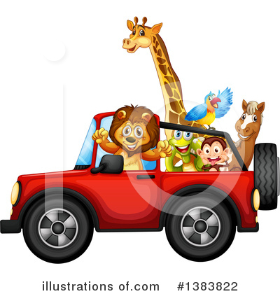 Zoo Animals Clipart #1383822 by Graphics RF