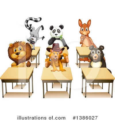 Panda Clipart #1386027 by Graphics RF