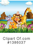 Zoo Animals Clipart #1386037