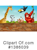 Zoo Animals Clipart #1386039