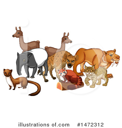 Llama Clipart #1472312 by Graphics RF