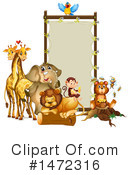 Zoo Animals Clipart #1472316 by Graphics RF