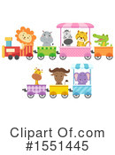 Zoo Animals Clipart #1551445 by BNP Design Studio