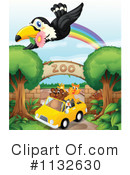 Royalty-Free (RF) Zoo Clipart Illustration #1132630