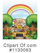 Royalty-Free (RF) Zoo Clipart Illustration #1133063
