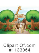Zoo Clipart #1133064 by Graphics RF