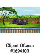 Zoo Clipart #1694100 by Graphics RF