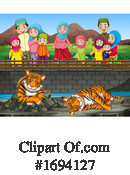 Zoo Clipart #1694127 by Graphics RF