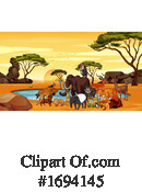 Zoo Clipart #1694145 by Graphics RF