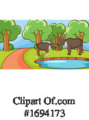 Zoo Clipart #1694173 by Graphics RF