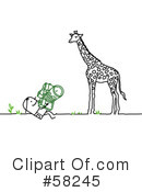 Royalty-Free (RF) Zoo Clipart Illustration #58245