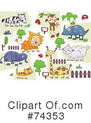 Zoo Clipart #74353 by BNP Design Studio