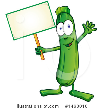 Zucchini Clipart #1460010 by Domenico Condello