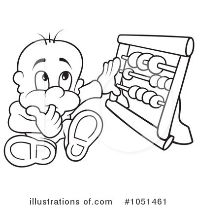 Abacus Clipart #1051461 - Illustration by dero