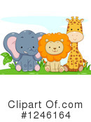 African Animals Clipart #1246164 by BNP Design Studio