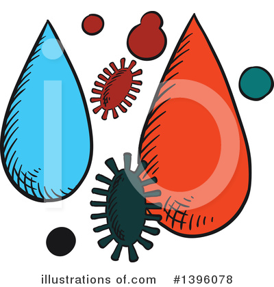 Amoeba Clipart #1396078 by Vector Tradition SM