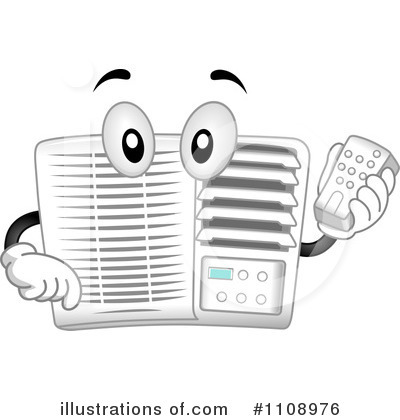 air conditioner clipart. royalty-free (rf) air conditioner clipart illustration #1108976 by bnp design studio c