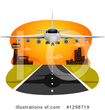 Airport Clipart #1298719 by BNP Design Studio