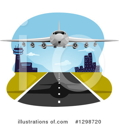 Airport Clipart #1298720 by BNP Design Studio