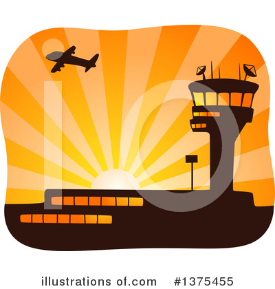 Airplane Clipart #1375455 by BNP Design Studio