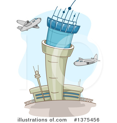 Airplane Clipart #1375456 by BNP Design Studio