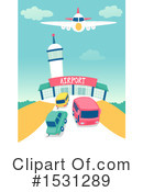 Airport Clipart #1531289 by BNP Design Studio