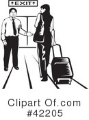 Airport Clipart #42205 by David Rey