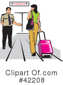 Airport Clipart #42208 by David Rey