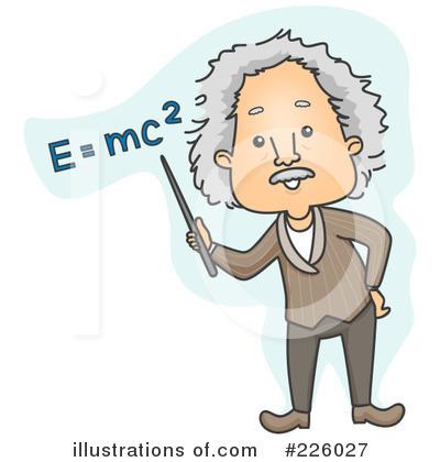 Albert Einstein Clipart #226027 - Illustration by BNP ...