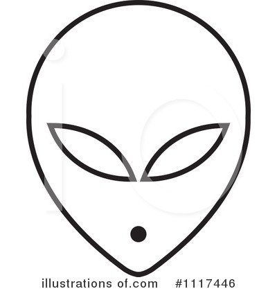Alien Clipart #1117446 - Illustration by Lal Perera