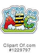 Alphabet Clipart #1229797 by Cory Thoman