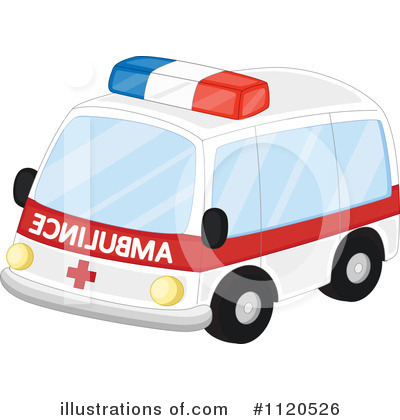 Ambulance Clipart #1120526 - Illustration by colematt