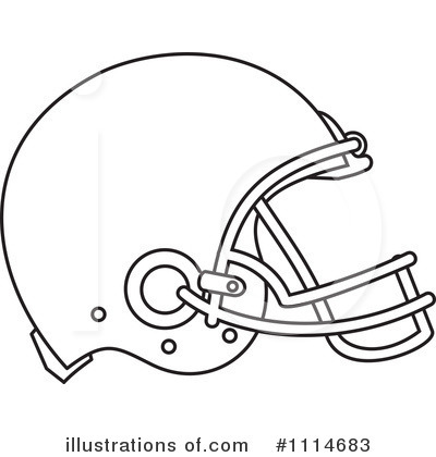 American Football Clipart 1114683 Illustration By Patrimonio