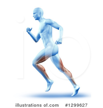 Jogging Clipart #1299627 by KJ Pargeter