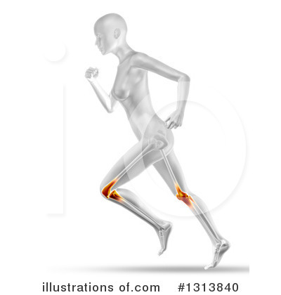 Jogging Clipart #1313840 by KJ Pargeter